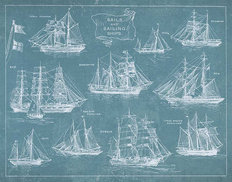 Sailing Ships Wallpaper Mural