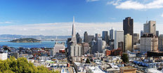 San Francisco Skyline Wall Mural