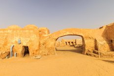 Scenery Of The Planet Tatooine Wall Mural