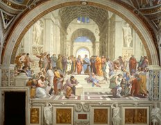 School Of Athens Wall Mural