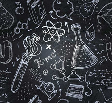 Science Lab Wallpaper Mural