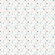Scribble Dots Wallpaper
