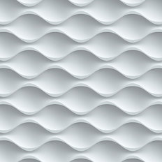 3D Wave Pattern Mural Wallpaper