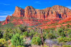 Sedona Red Rocks Wallpaper Mural