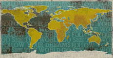 See The World Wall Mural
