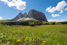 Sella Pass - Italian Dolomites Wallpaper Mural