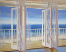 Sheer View Wallpaper Mural