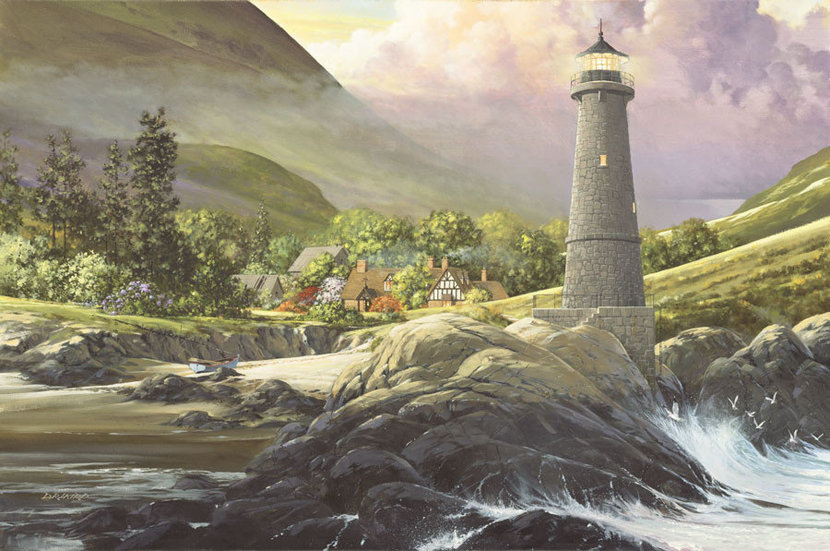 Shelter Cove Wall Mural