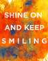 Shine On Smiling Mural Wallpaper