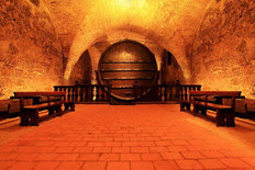Wine Cellar Mural Wallpaper