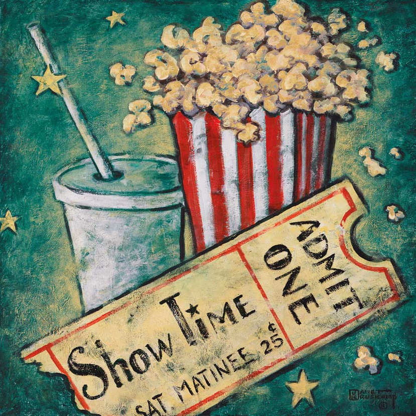 Show Time Mural Wallpaper