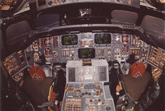 Shuttle Controls Wall Mural