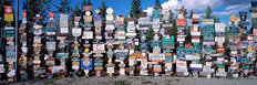 Sign Post Forest Yukon, Canada Wall Mural