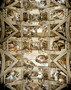 Sistine Chapel Ceiling And Lunettes Wall Mural
