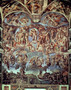 Sistine Chapel, The Last Judgement Mural Wallpaper