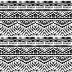 Sketchy Geometric Pattern Wallpaper