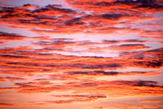 Sky Of Color At Sunset Mural Wallpaper