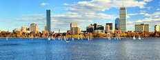 Back Bay Boston Wall Mural