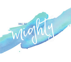 Small But Mighty Mural Wallpaper