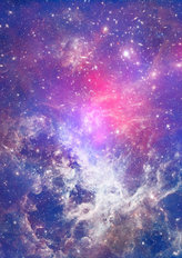 Small Part Of An Infinite Star Field Of Space In The Universe  Mural Wallpaper
