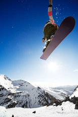 Snowboarder Air Jump Wallpaper Mural