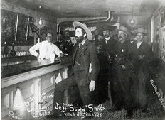'Soapy' Smith's Saloon Bar at Skagway, Alaska Wall Mural