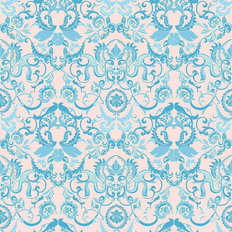 Sochi Damask Mural Wallpaper