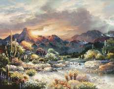 Sonoran Sunrise Wall Mural