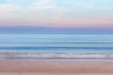 Soothing Early Evening Ocean Wall Mural
