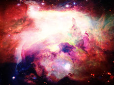 Bright Space Nebula Wallpaper Mural