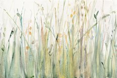 Spring Grasses I Mural Wallpaper