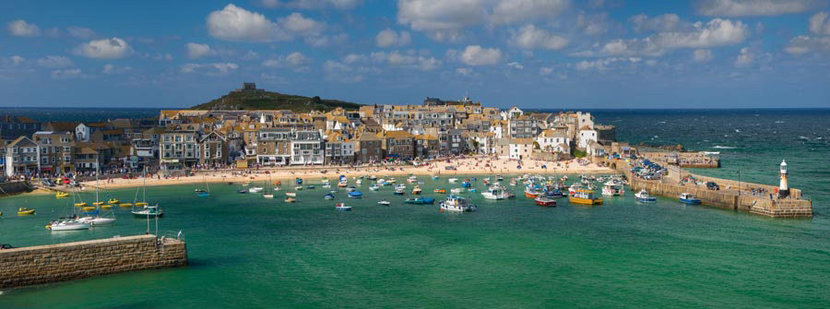 St Ives Beach UK Wall Mural