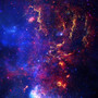 Star Field In Deep Space Wallpaper Mural