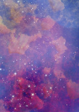 Star Field In Space Wallpaper Mural