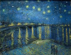 Starry Night Over the Rhone Wall Mural
