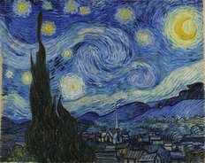 Starry Night (Van Gogh) Wallpaper Mural