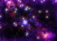 Infinite Starry Sky Mural Wallpaper