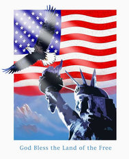 Statue Of Liberty (Sundram) Wall Mural