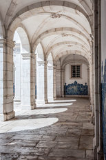 St. Vincent Monastery Arches Wallpaper Mural