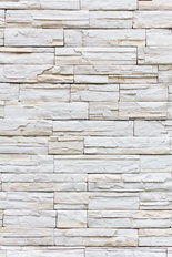 Stacked Stone Vertical Mural Wallpaper