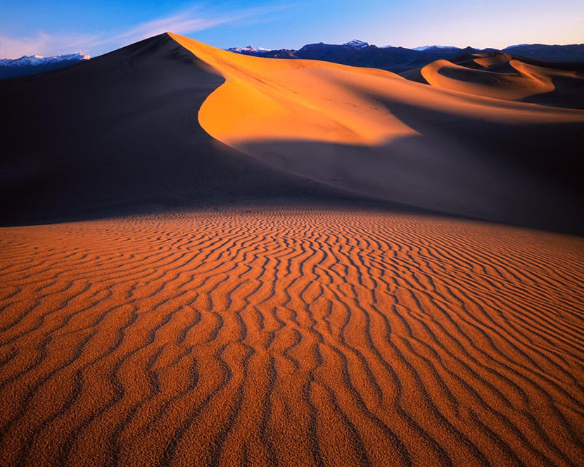 Stovepipe Wells Sand Dunes Wall Mural