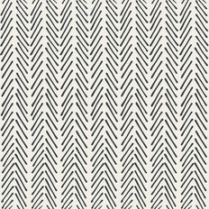Stroke Herringbone Pattern Wallpaper