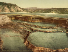 Summit Basin, Yellowstone National Park Wall Mural