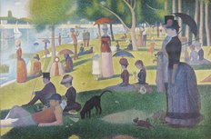 Sunday Afternoon On Island Of La Grande Jatte Mural Wallpaper