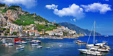 Summer On The Amalfi Coast Mural Wallpaper