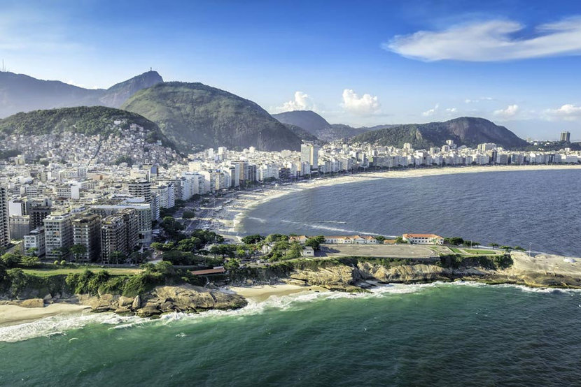 Aerial view of Sunny Rio