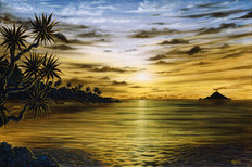 Sunrise Sunset Mural Wallpaper