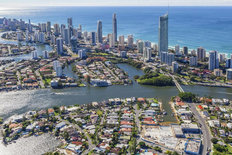 Surfers Paradise Mural Wallpaper