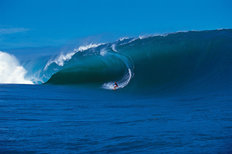 Surfing, Teahupoo, French Polynesia Mural Wallpaper