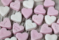 Sweethearts Candy Wallpaper Mural